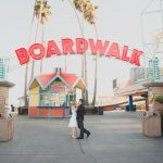Santa Cruz Beach Boardwalk Engagement – Laura + Josh: Engaged!