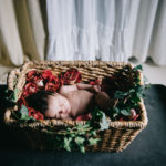 Gilroy Lifestyle Newborn Photographer – Baby Daphne: 8 weeks old